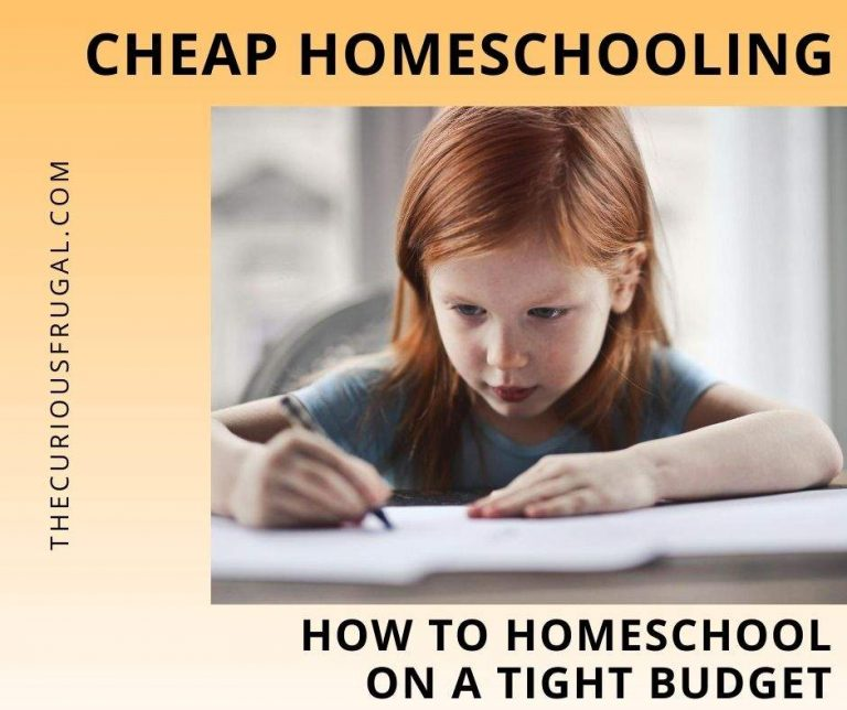 Cheap Homeschooling: How to Homeschool on a Tight Budget
