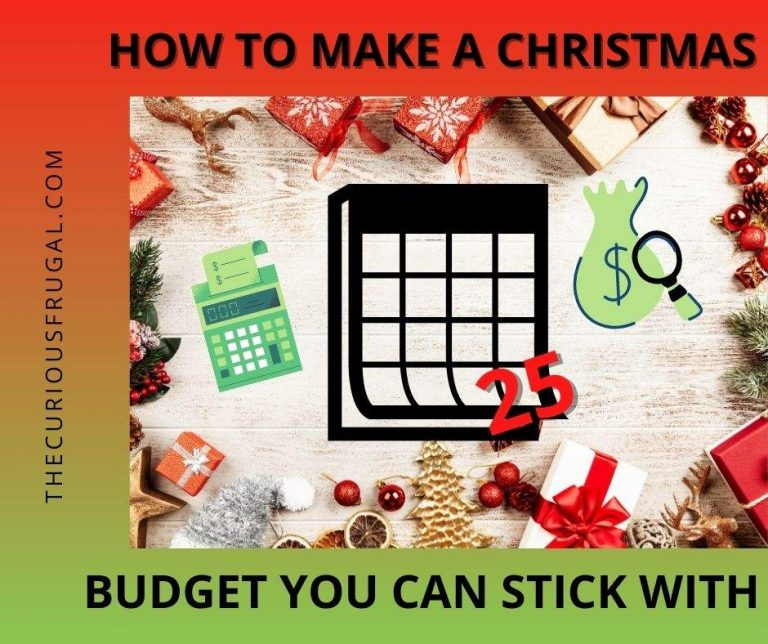 Christmas Budget: How to Make a Budget You Can Stick With