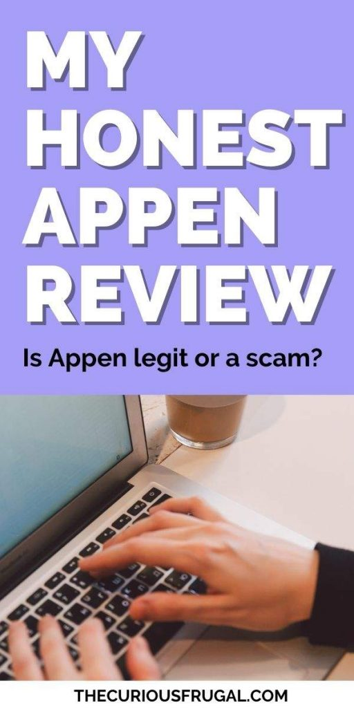 My honest Appen review – is Appen legit or a scam? (woman working at laptop at home with cup of coffee)