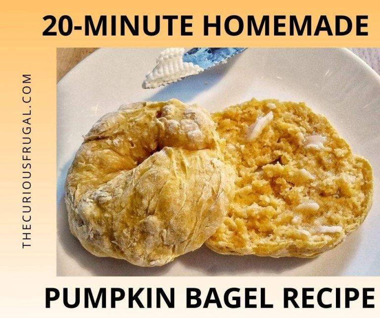 20-Minute Homemade Pumpkin Bagels