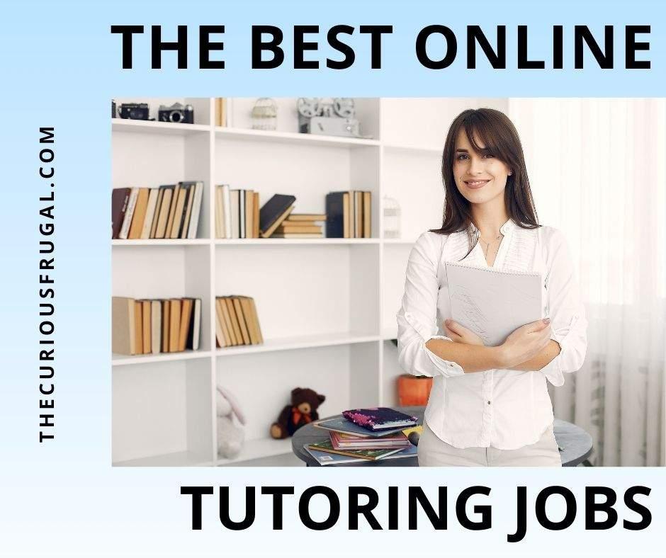 The best online tutoring jobs - teacher holding books