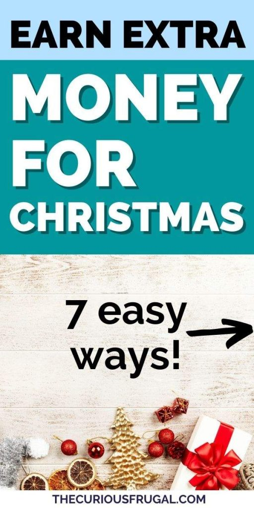 Earn extra money for Christmas - 7 easy ways (Christmas decorations)
