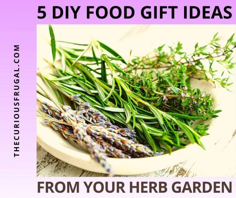 5 Inexpensive DIY Food Gift Ideas From Your Herb Garden
