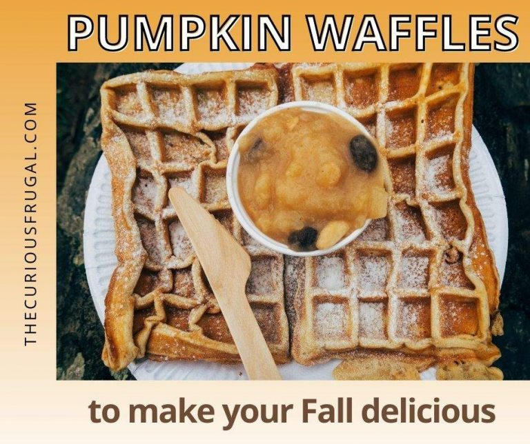 Pumpkin Waffles You Need To Make Your Fall Extra Delicious