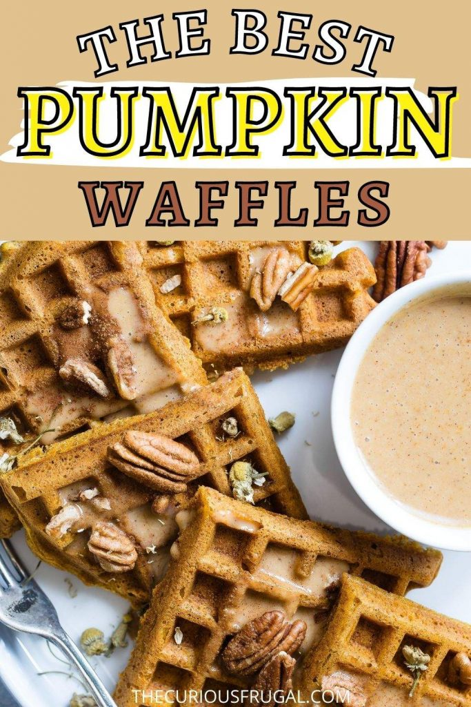 The best pumpkin waffles (pumpkin waffles with pecans)