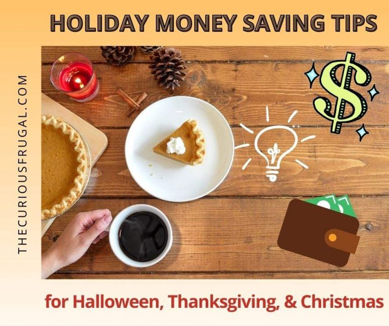 The Best Holiday Money Saving Tips for Halloween, Thanksgiving, and Christmas