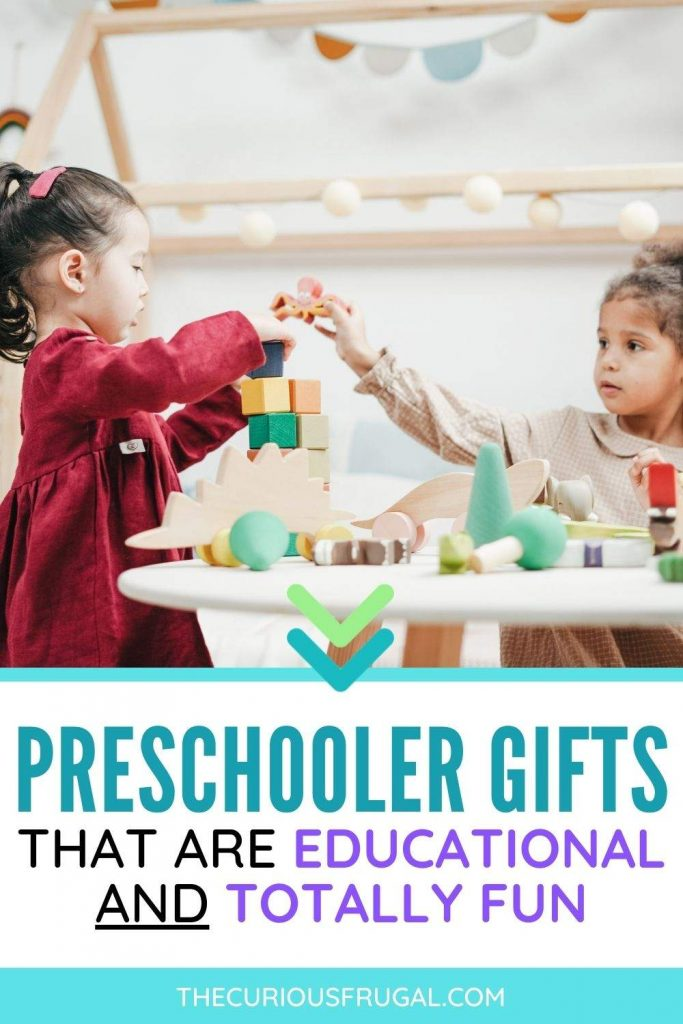 Preschooler Gifts that are educational and totally fun (preschool kids playing with toys)