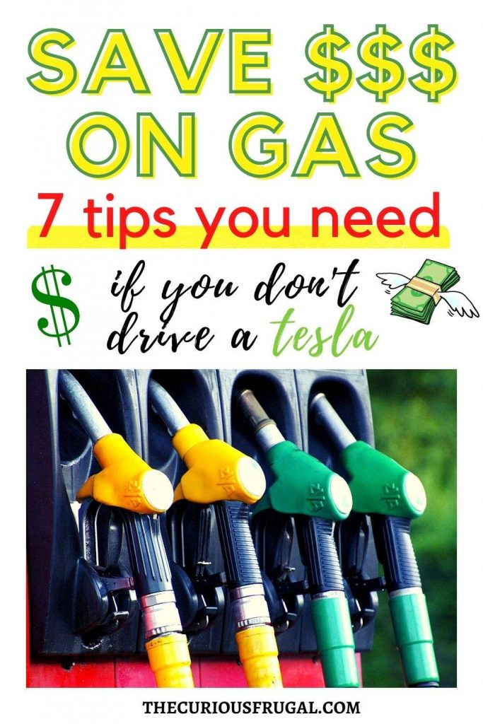 Saving money on gas: 7 tips you need if you don't drive a Tesla (gas station)